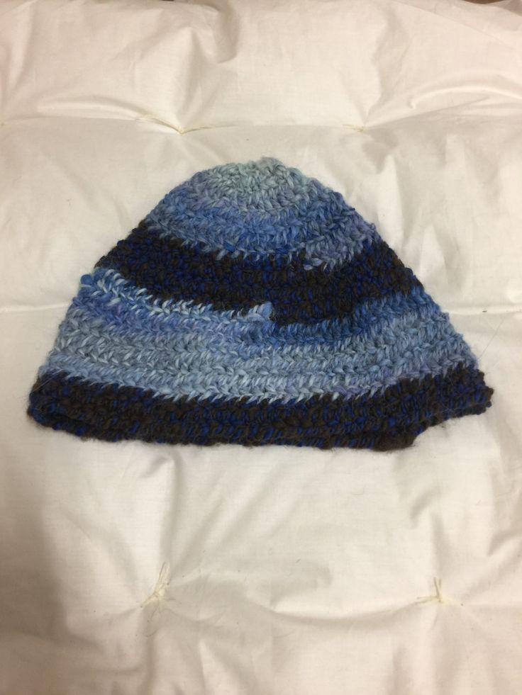 Viking, Norse, Anglo Saxon, Nalbinding hat, Hand spun alpaca, oslo stitch. by Micheleshats on Etsy