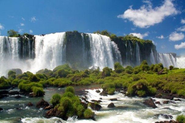 Iguazú Falls in Argentinië/Brazilië