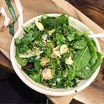$15 bucks later. . The most amazing salad I've ever eaten. . Kale, spinach, mixed greens, quinoa, onions, chicken, hard boiled eggs, Parmesan shreds, and a little pesto vinegarette. . . Give me all the greens @sweetgreen #sweetgreen #salad #kale #spinach #protein #quinoa #healthyfood #healthyeating #foodporn #macros #proteins #eatclean #clean #local #eatlocal #macronutrients #nutrition #health #greens #leaves #newyork #nyc @nyceeeeeats @nyc.food