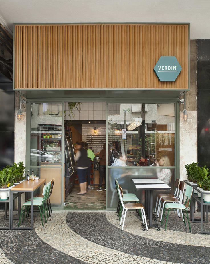 25 melhores ideias sobre fachadas comerciais no pinterest for Fachada para restaurante