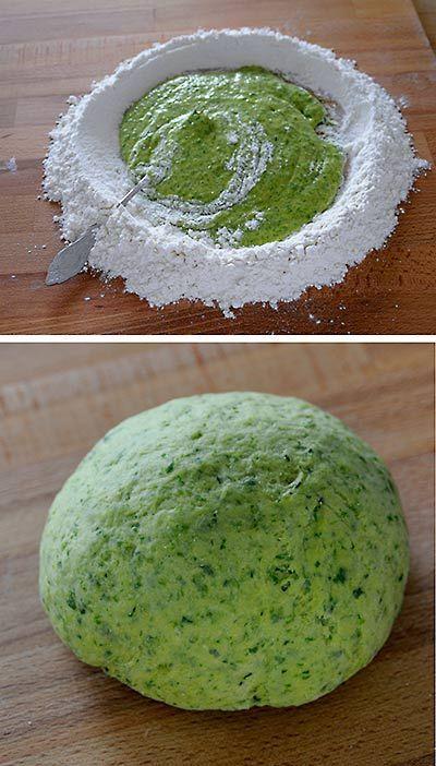 Rezept für selbstgemachte Bärlauch-Pasta - foolforfood.de