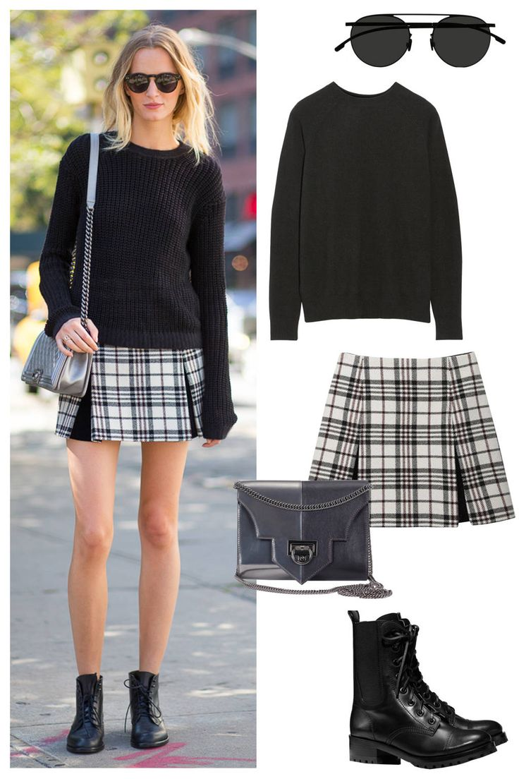17 Best ideas about Plaid Skirts on Pinterest | Polyvore, Style ...