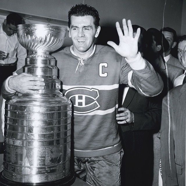 """Maurice Richard was known as """"Rocket"""" Richard because he was a really fast ice skater and a really good scorer. Richard won the Stanley Cup 8 times with the Canadians as their Captain. Maurice Richard was inducted into the NHL Hall of Fame in 1975. The Montreal Canadiens retired Maurice Richard's number(9). Maurice Richard won the Hart Trophy as the NHL's Most Valuable Player(MVP) in 1947."""