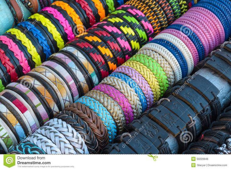 Colourful Handmade Bracelets