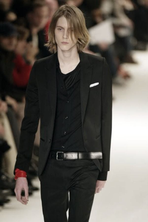louis de castro for Dior Homme a/w04