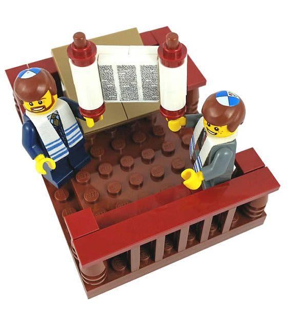 Lego® Bar Mitzvah Jewish Custom Lego® Set from JBrick