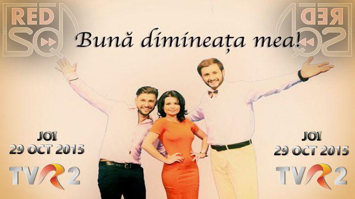 "REDSQ @ REDSQ LIVE @ TVR 2 - ""Buna dimineata mea!"" - Bucuresti, Romania"