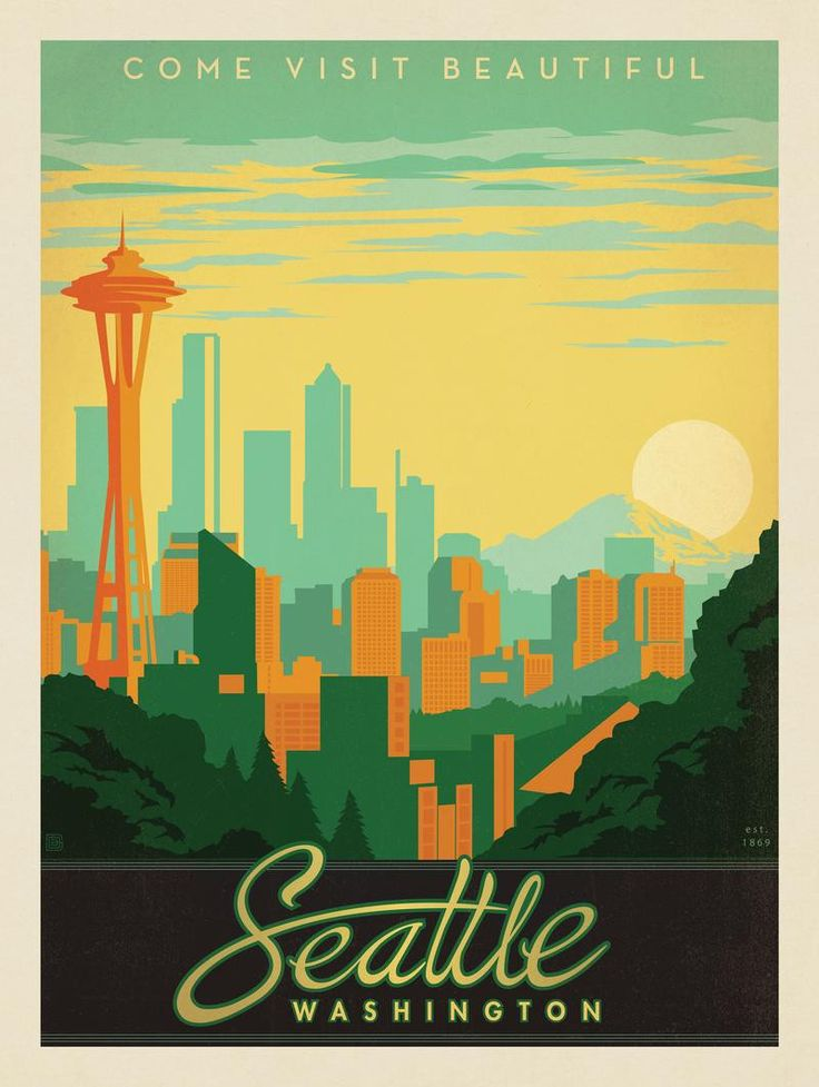 Anderson Design Group � American Travel � Seattle: Skyline