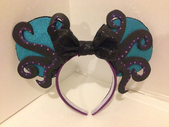 Custom Mickey Mouse ears by ColeRoseCrafts on Etsy