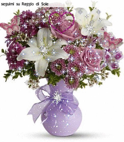 Кирюше, букеты цветов гифы мерцающие