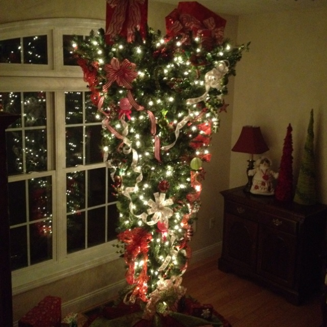 135 best Upside Down Christmas Trees images on Pinterest | Upside ...