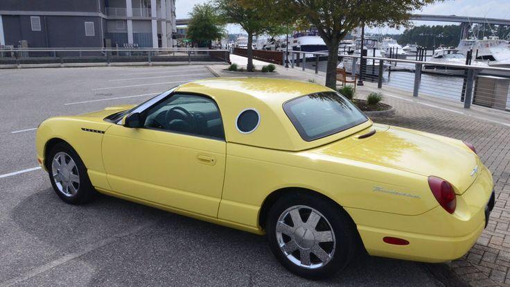 2002 Ford Thunderbird Convertible 3.9/252 HP