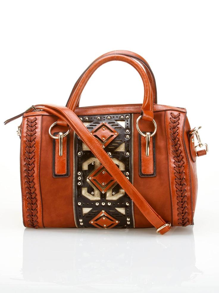 Patterned Doctor Bag