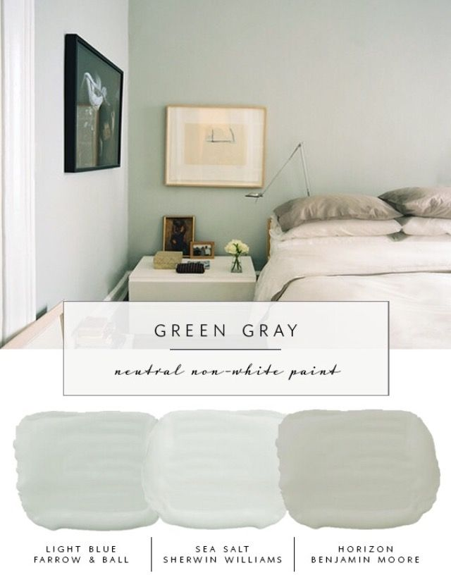 Muted Green Paint Colors