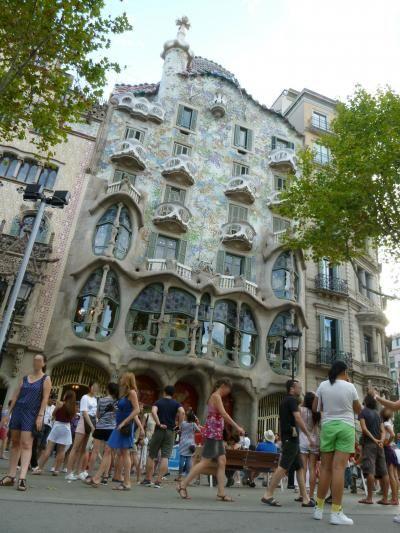 カサ・バトリョ スペイン バルセロナ