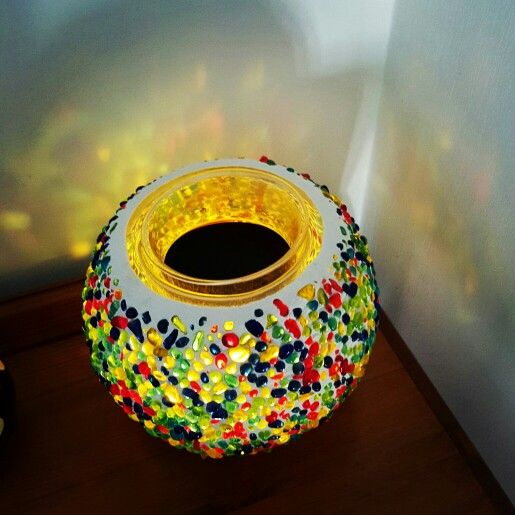 Love this Partylite Scent warmer. So pretty when it's lit up and smells gorgeous.