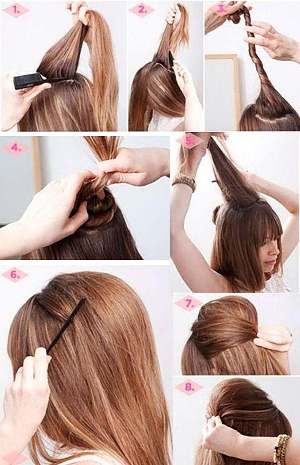 Прически на длинные волосы пошагово | hairwiki.ru