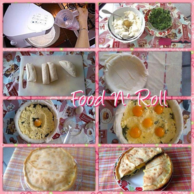 FOOD N' ROLL   ......................   il blog   ...: TORTA PASQUALINA...