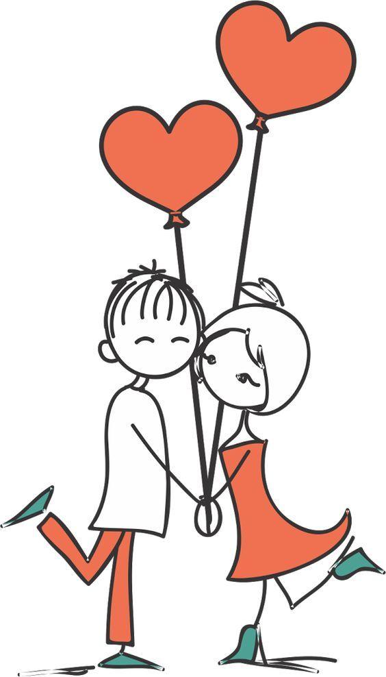 Desenho de noivinhos para convite   Bendito Papel:
