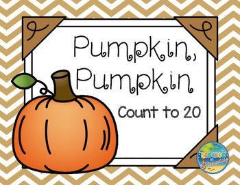 This is a great resource to add to your Autumn/ Fall/ Pumpkin Unit and supports the following Early Learning Math Standards for Preschool Students in the following ways:  receptive identification of  numbers (0-20)  expressive identification of  numbers (0-20)  ordering numerals   rote counting skills  creating sets of objects to match numerals  counting to answer How many? (up to 20 objects)  counting up to 20  items (pumpkin seeds)  in a scattered configuration  with no errors  comparing…