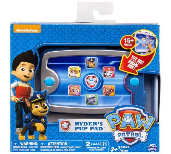 Buy PAW Patrol Ryders Pup Pad at Argos.co.uk, visit Argos.co.uk to shop online for Limited stock Toys and games, Limited stock clearance