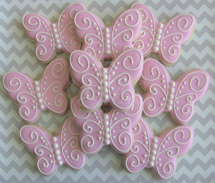 Sušenky * motýli