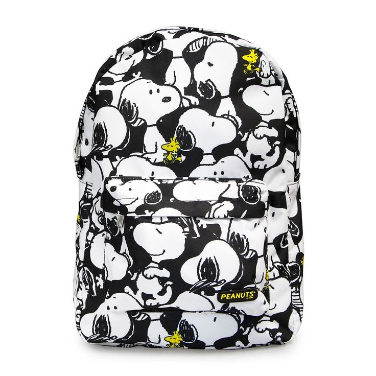 Peanuts Snoopy Print Backpack