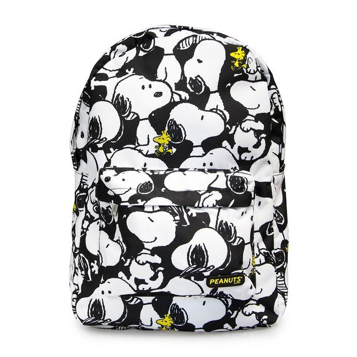 Peanuts Snoopy Print Backpack