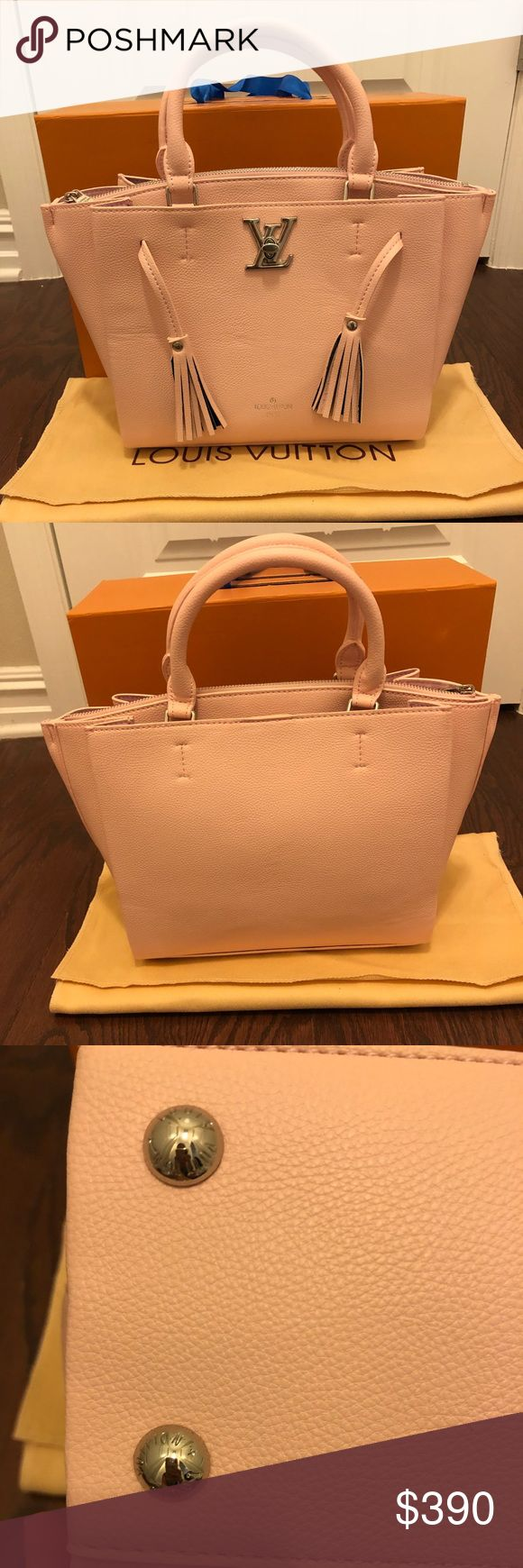 New bag New bag. Pale pink, lightweight. Very good quality. Comes with dust bag and shoulder strap. Please pay close attention to the price, authentic ones cost more. Offers welcome, no trades. Louis Vuitton Bags Satchels