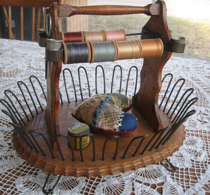 Unusual sewing caddy