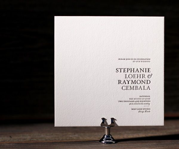 Contemporary Wedding Invitations: 1000+ Ideas About Modern Wedding Invitations On Pinterest