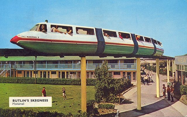 Butlins Skegness - Monorail
