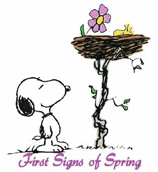 Spring is just around the corner! | Peanuts | Pinterest