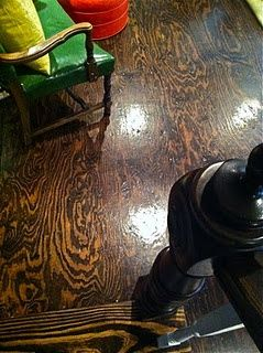 plywood floor!  Really really loving this idea!!!  Cheap and easy!