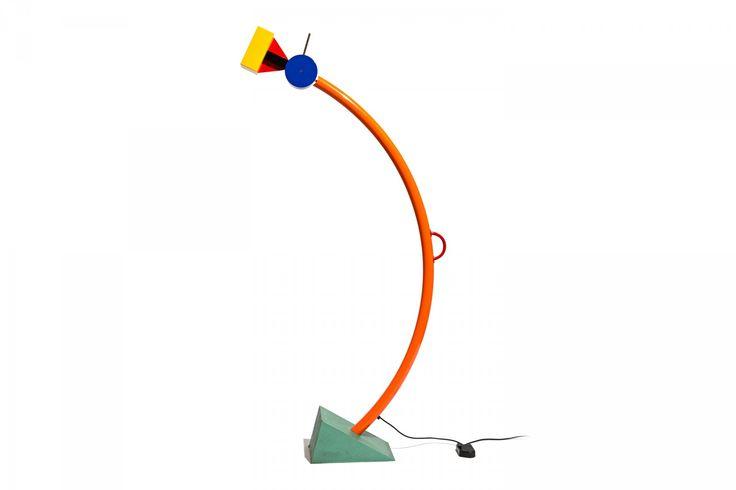 Ettore Sottsass (designer), tahity lamp, 1981.