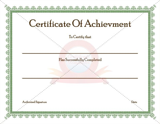 20 best achievement certificate templates images on pinterest achievement certificate template recognize the achievement yelopaper Gallery