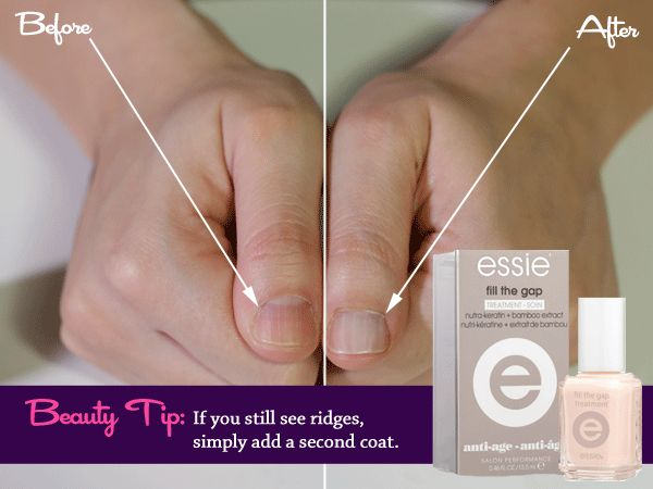 Beauty Test Drive: Essie Fill The Gap Treatment For Nail Ridges