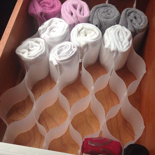 Especialista ensina os melhores jeitos de guardar meias, calcinhas, sutiãs e todas as miudezas do guarda-roupa | Chic - Gloria Kalil: Moda, Beleza, Cultura e Comportamento