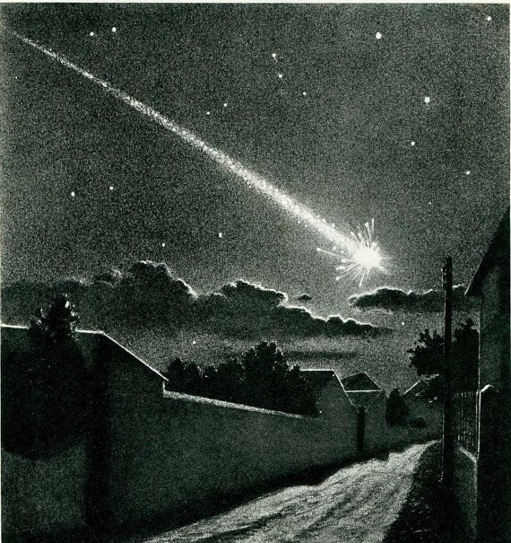54 Best Meteorite Images On Pinterest: 17 Best Images About Stars, Meteors Comets For Art On