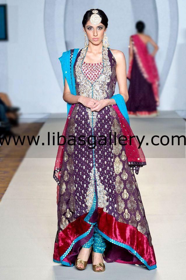 Zainab Chottani Paris Bridal 2013-14 | Zainab Chottani Bridal Couture Week Shop the Latest Party Wear Salwar Suit Online Shopping at Most Affordable Prices, Buy  Party Wear Salwar Kameez Online from Top Pakistani Fashion Designers Zainab Chottani, Ali Xeeshan (Khudija), Kuki Concepts (Zahid Khan), Rani Emaan (Faisal), Uzma Baber, Mehdi, Hina Butt, Samreens Closet, Asifa and Nabeel (Asifa), , Erum Khan, Zainab Chottani, Humayun Alamgir, Bina Sultan, and Saira Rizwan. By www.libasgallery.com