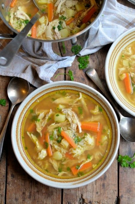 Lavender and Lovage | Canja de Galinha – Brazilian Chicken and Rice Soup | http://www.lavenderandlovage.com