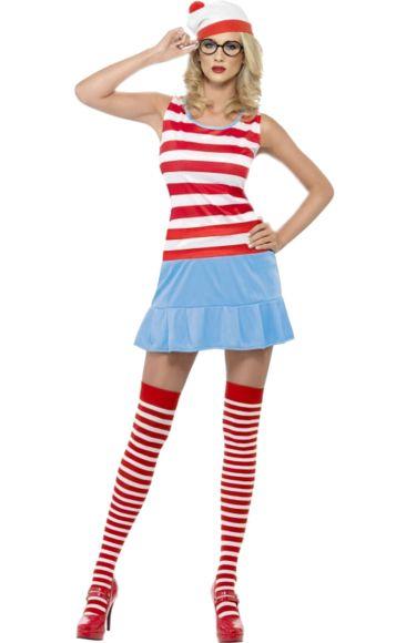 Ladies' Where's Wally Costume