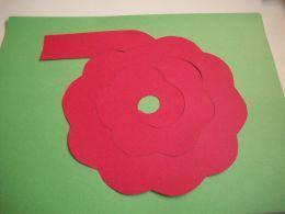 Plantilla per fer una rosa