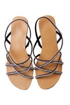 Strappy flat diamante sandal R299 #myqueensparksummer