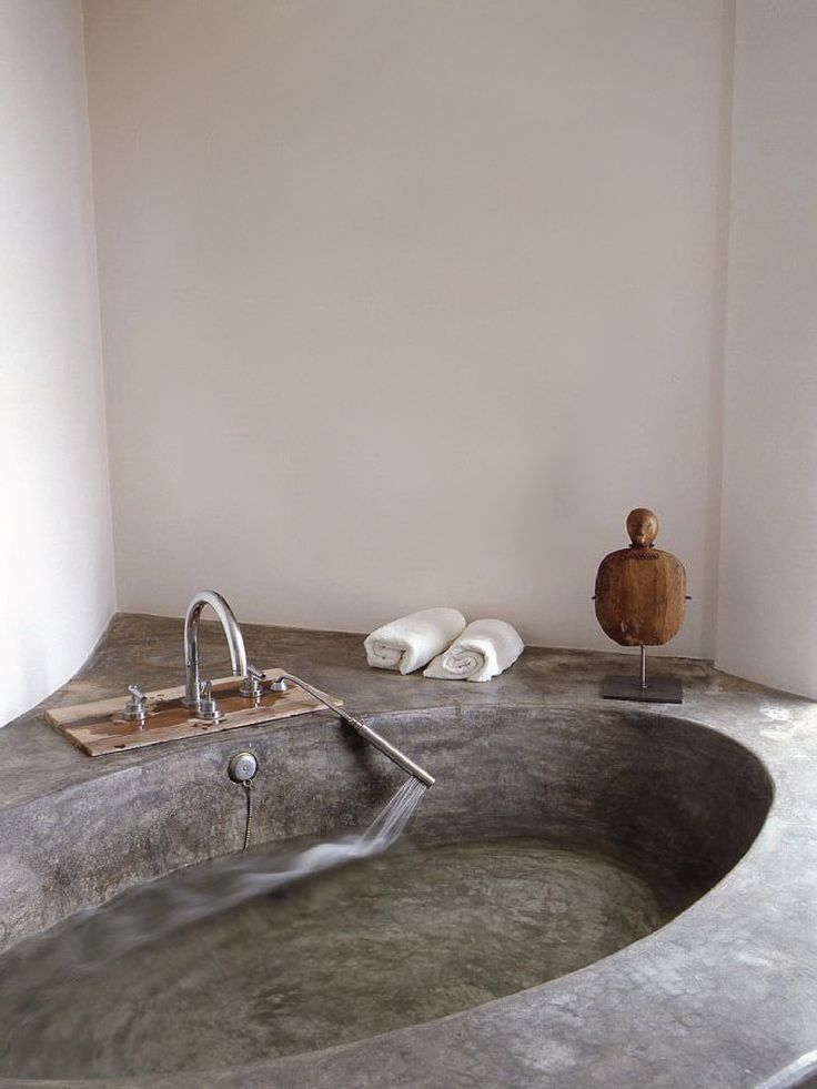 Give mom the gift of relaxation with this concrete spa bath! #mothersday #intermountainconcretespecialties