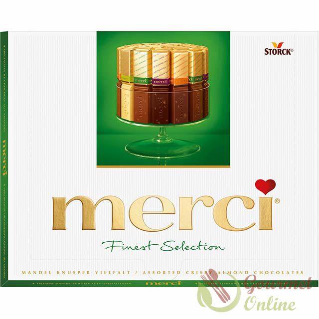 Bomboane Merci Verde 250g www.gourmet-online.ro