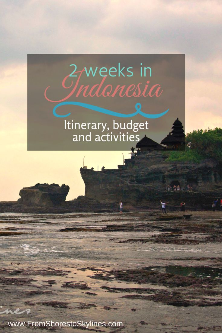 2 weeks in Indonesia - temples, rice terraces, great food, friendly people and amazing scuba diving!