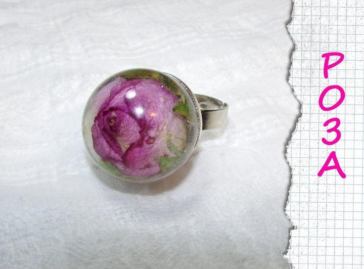 Роза в эпоксидной смоле / Rose in epoxy resin