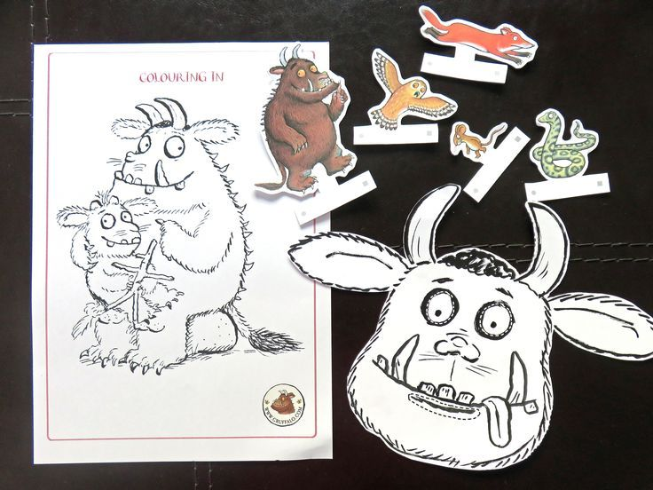 Free Printable The Gruffalo activities
