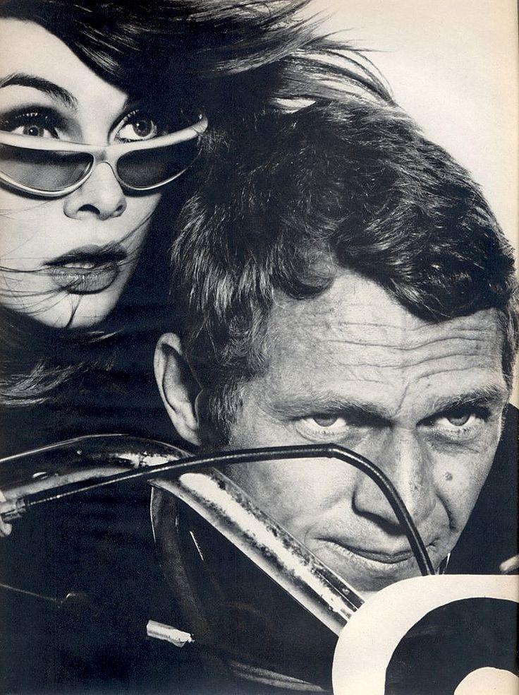 Steve McQueen et Jean Shrimpton - Harper's Bazaar - 1965 © Richard Avedon